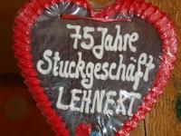 75 Jahre Stuckgeschäft LEHNERT GMBH